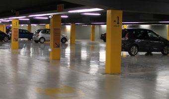 Parcheggio coperto Fiumicino